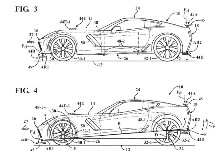 Adaptive Aerodynamics Plans Detailed for C7 Corvette