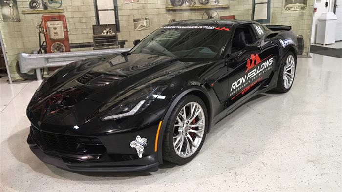 2015 Corvette Z06 VIN 016