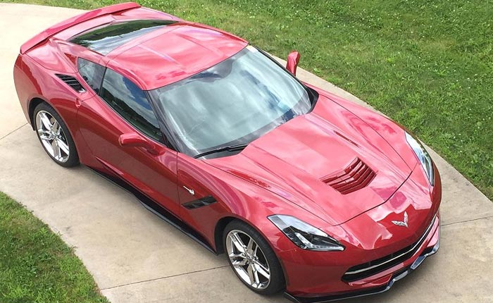 Get Aggressive Looks with these C7 Corvette Side Skirts from RPI Designs