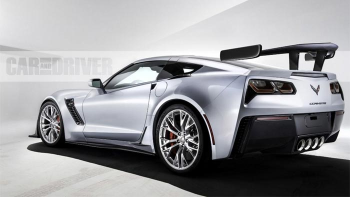 Car And Driver Renders The 2018 Corvette Zr1 Names It No 1