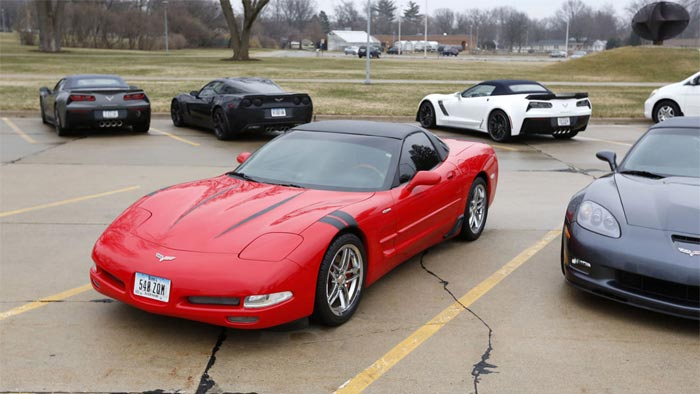 Corvette Assembly Plant Manager Kai Spande 'Pays it Forward' with Visit to Alma Mater