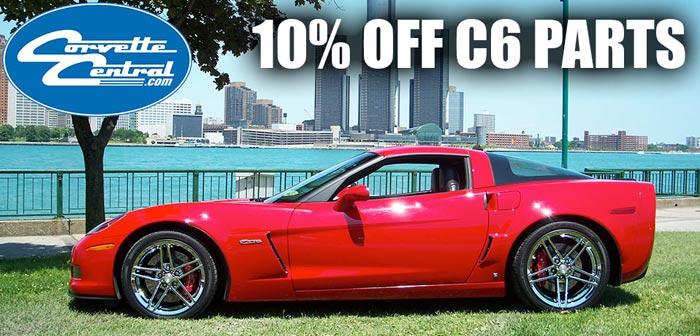 Save 10% On C6 Corvette Parts from Corvette Central