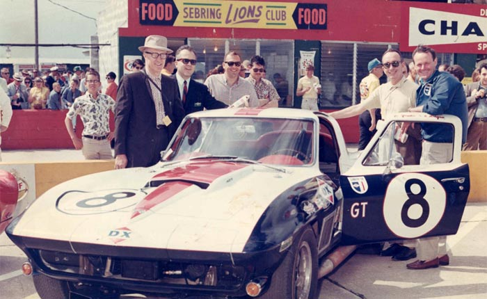 [PICS] Throwback Thursday: 1967 Corvette L88 Sunray DX Wins the 12 Hours of Sebring