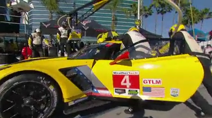 [VIDEO] Corvette Racing at Long Beach: Pit Practice Until Perfect