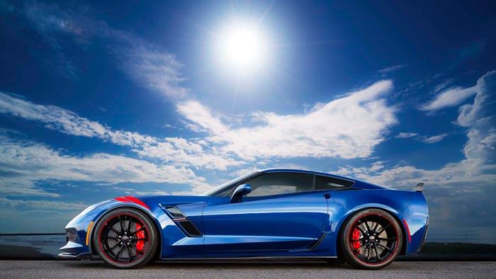 Five Special Corvette Grand Sport Admiral Blue Heritage