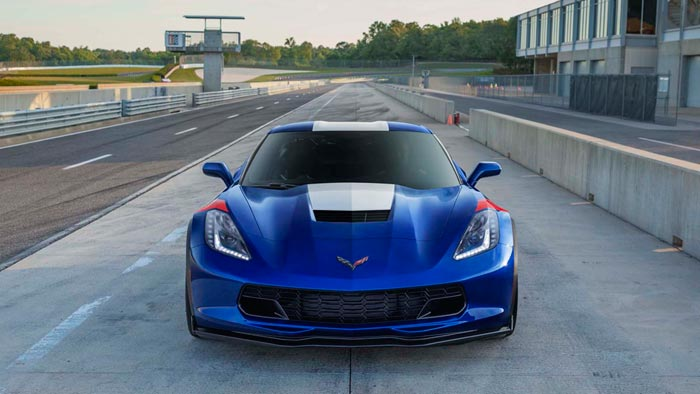 Japan to get Five Corvette Grand Sport Admiral Blue Heritage Editions