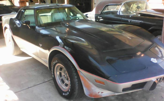Corvettes on Craigslist: Needy 1978 Corvette L82 Indy 500 Pace Car