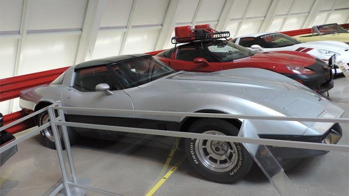 1981 Corvette Nicknamed the Bowling Green Special Donated to the NCM