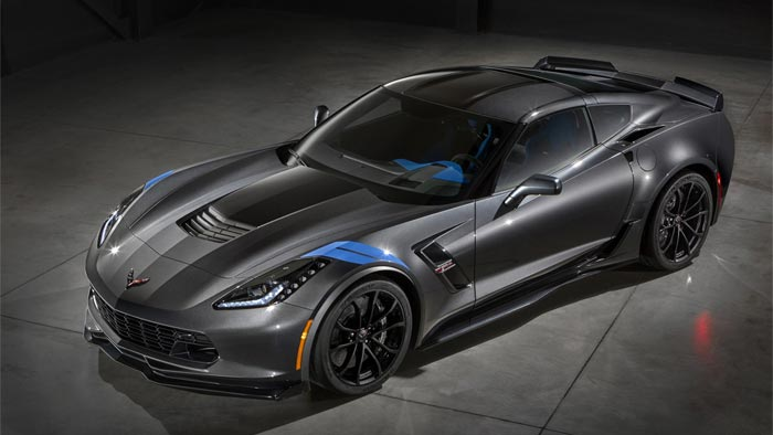 Corvette Museum To Raffle No.003 2017 Corvette Grand Sport Collector Edition