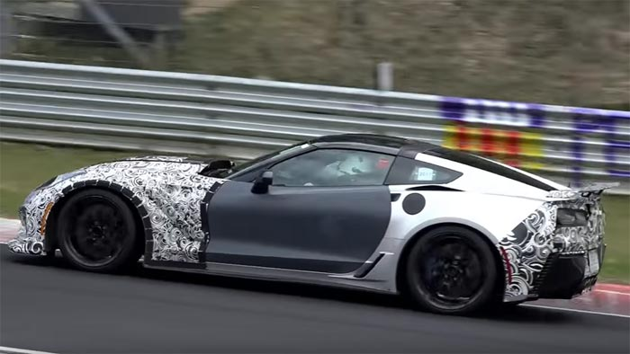 [VIDEO] Sights and Sounds of the 2018 Corvette ZR1s on the Nurburgring