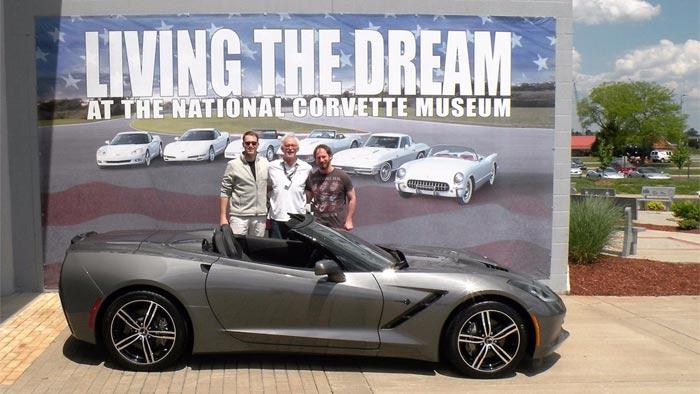 You Can Own the Corvette Museum's Living The Dream Corvette Banner