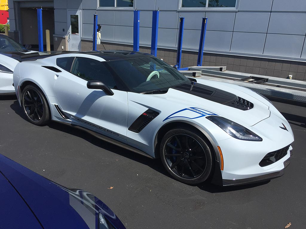 [PICS] Here is the 2018 Corvette Carbon 65 Edition ...