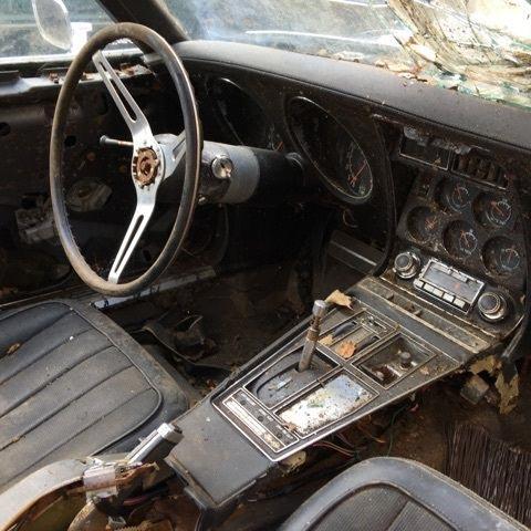 Corvettes on eBay: LS5 1970 Corvette Barn Find