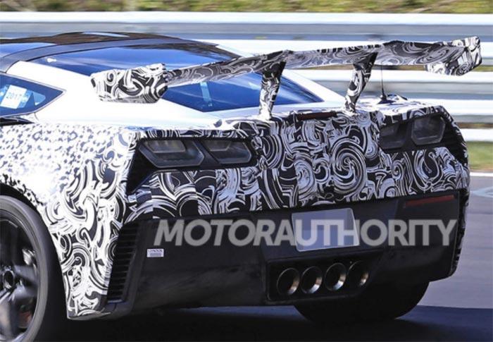 [SPIED] 2018 Corvette ZR1 Prototype with Active Aero in Detroit?