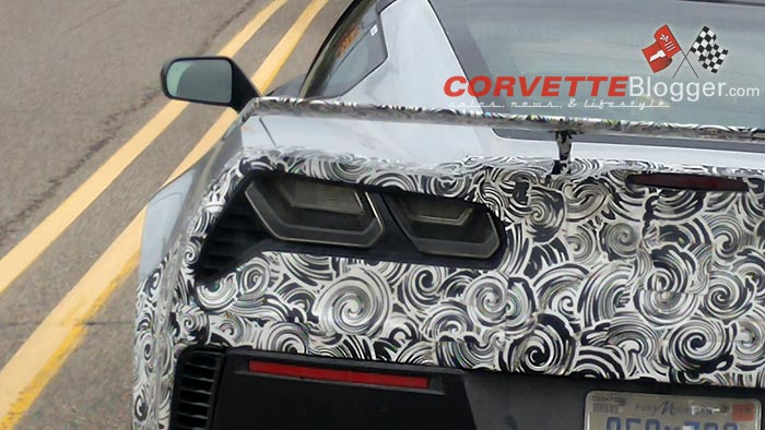 [SPIED] 2018 Corvette ZR1 Prototype with Active Aero in Detroit?