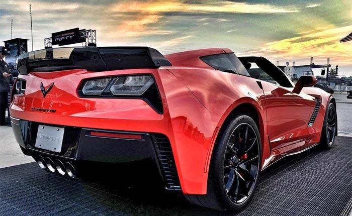 Chevrolet Announces Bonus Tag Rebates for 10% Off MSRP on Select 2017 Corvette Models