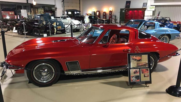 [PICS] Yager Family Donates Four Historic Corvettes Valued at $6.3 Million to Pierce-Arrow Museum