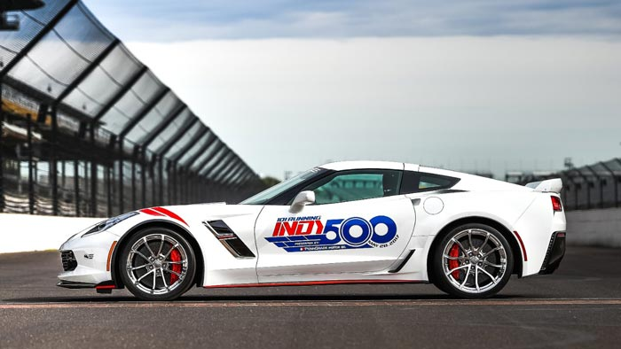 [PICS] 2017 Corvette Grand Sport to Pace the 101st Indianapolis 500