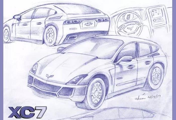 The Detroit News Announces Winners of its Corvette SUV Design Contest
