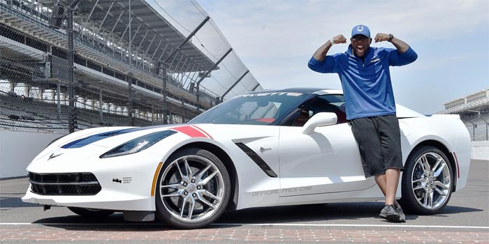 Colt's Mathis to Drive the Corvette Stingray Pace Car at the IndyCar Grand Prix