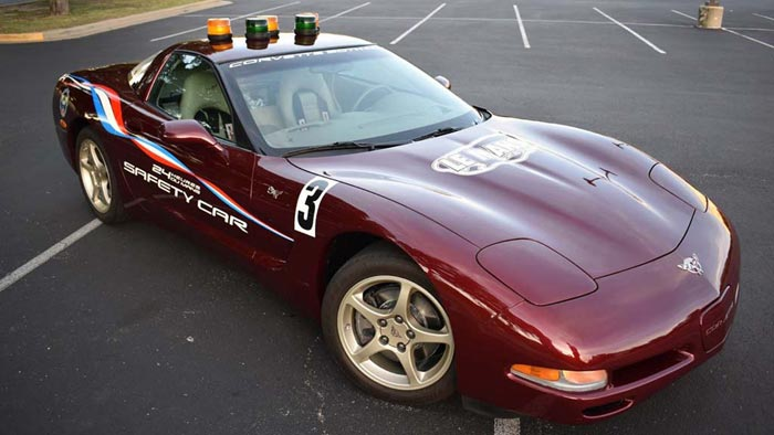 2003 corvette 50th anniversary le mans safety car offered at auctions america corvette sales. Black Bedroom Furniture Sets. Home Design Ideas