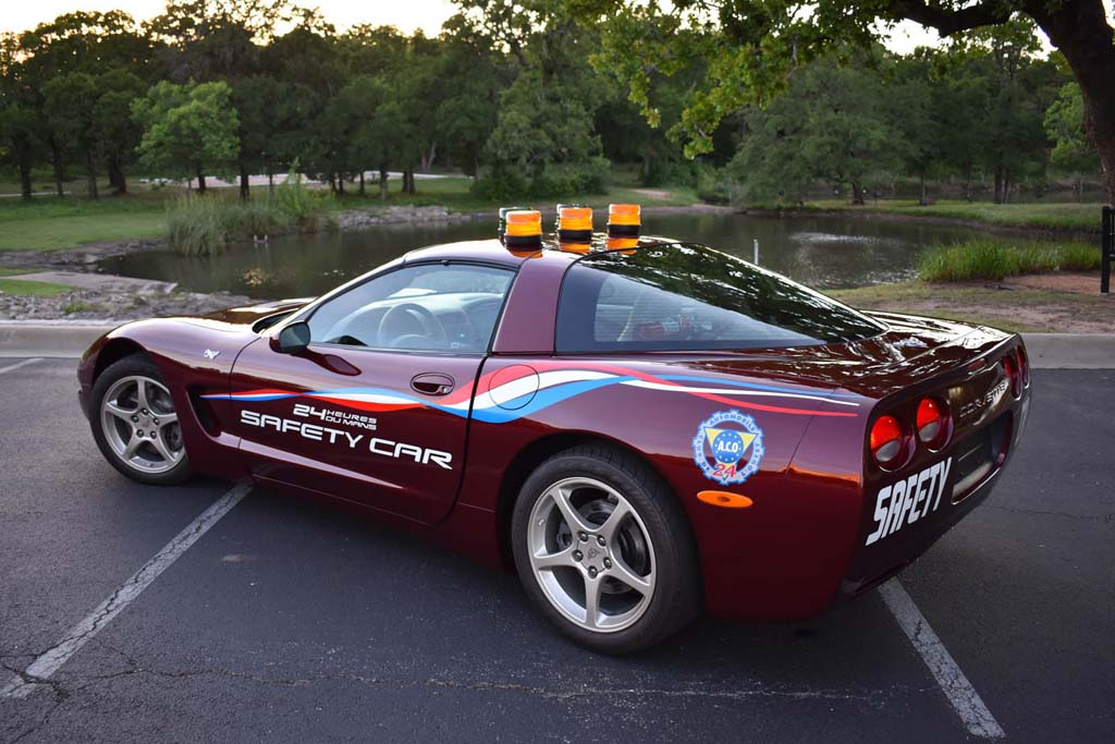 2003 Corvette 50th Anniversary Le Mans Safety Car Offered At