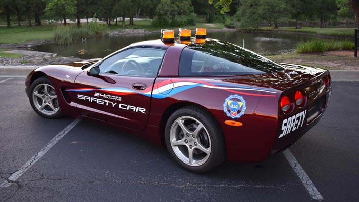 2003 Corvette 50th Anniversary Le Mans Safety Car Offered at Auctions America