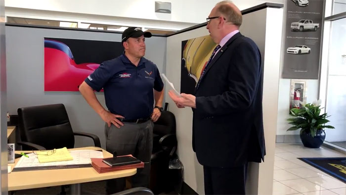[VIDEO] Criswell Chevrolet's Mike Furman Honored with Visit from GM Management