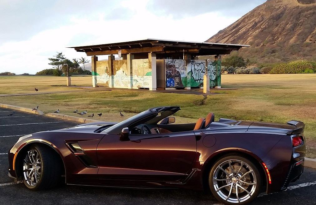 Black Rose Metallic Production Numbers Finalized For 2018 Corvettes
