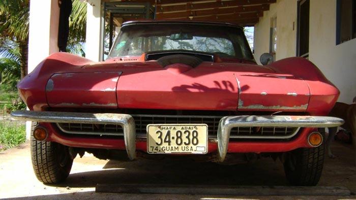Corvettes on Craigslist: 1967 Corvette Small-Block on the Island of Guam