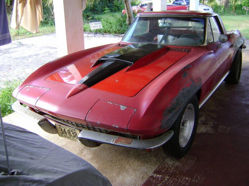 Corvettes on Craigslist: Exiled 1967 Corvette on the Island of Guam ...