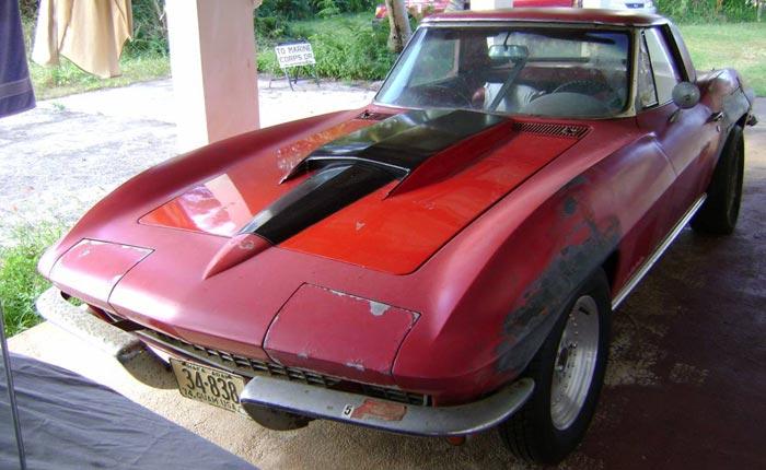 Corvettes on Craigslist: Exiled 1967 Corvette on the Island of Guam