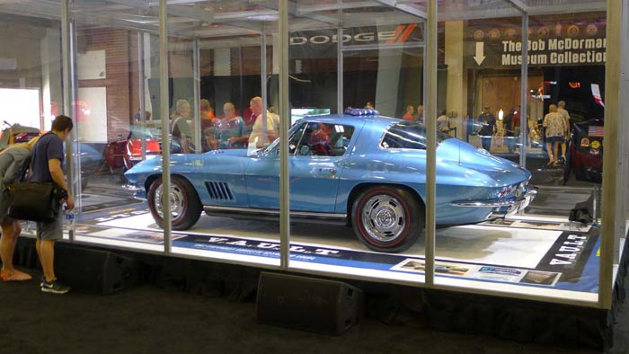 'Vault Find' 1967 Marina Blue 427/435 Corvette Sells for $675,000 at Mecum Indy