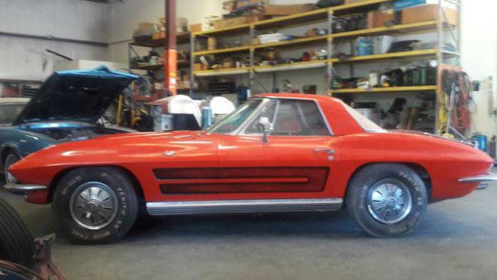 Corvettes on Craigslist: One Owner 1964 Corvette in San