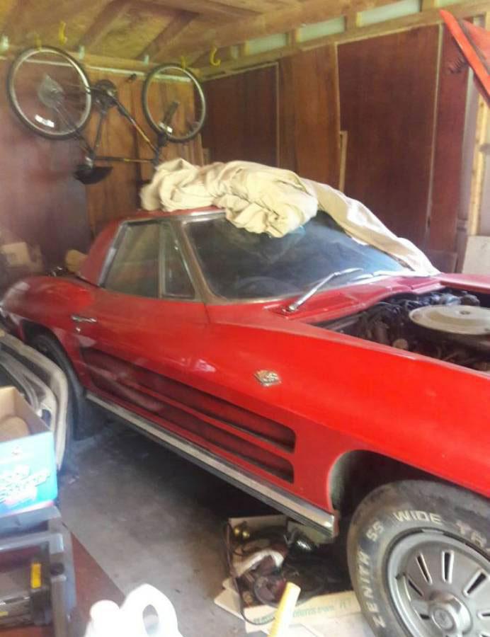 Corvettes on Craigslist: One Owner 1964 Corvette in San ...