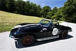 Corvettes on eBay: Historic Triple Black 1966 Corvette Hillclimb Racer