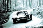 Corvettes on eBay: Historic Triple Black 1966 Corvette Hillclimb Racer