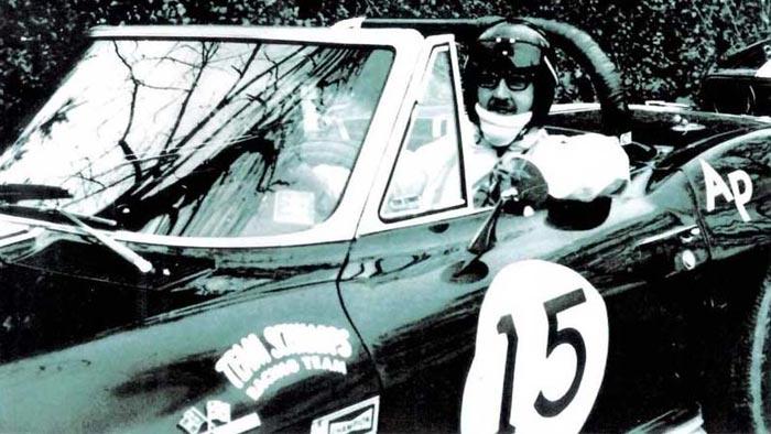 Corvettes on eBay: Historic Triple Black 1966 Corvette Hill Climb Racer