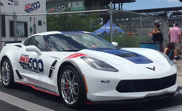 [GALLERY] 2017 Corvette Grand Sport Paces the 101st Indianapolis 500
