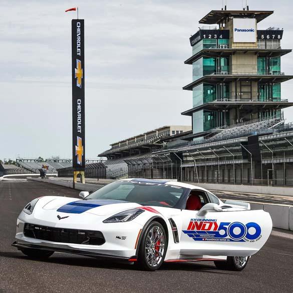 2017 Corvette Grand Sport Paces the 101st Indianapolis 500