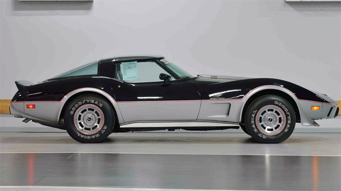 First and Last 1978 Corvette Indy 500 Pace Cars Bring Big Cash at Mecum's Indy Auction