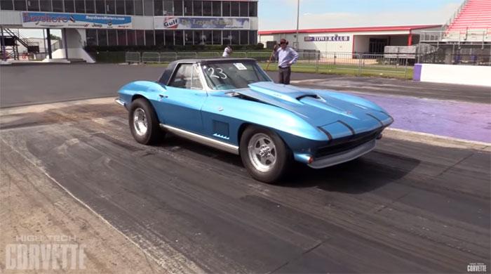 [VIDEO] Twin-Turbo C2 Corvette Runs in the Nines!