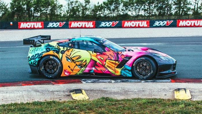 [PICS] Larbre Competition Unveils Corvette C7.R Art Car Livery for the 24 Hours of Le Mans