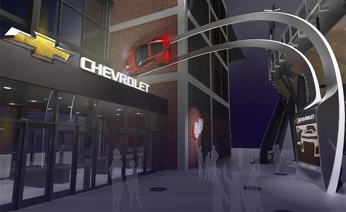 Chevrolet Extends Sponsorship with Detroit's Little Caesars Arena