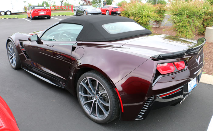 New Corvette Color to Replace Black Rose Metallic...But When?