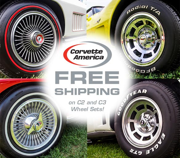 C2 and C3 Wheel Specials at Corvette America