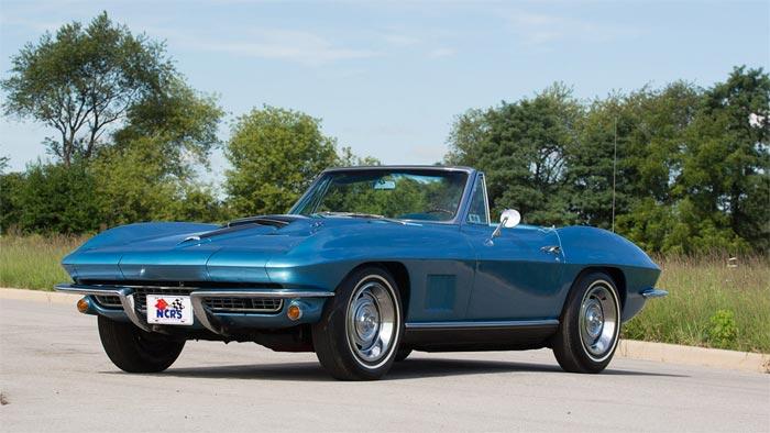 1967 427/435 Blue Convertible