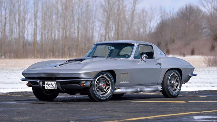 1967 427/435 Silver Coupe