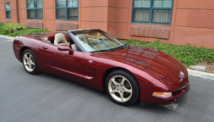 Collectible Corvettes: 2003 50th Anniversary Corvette Convertible