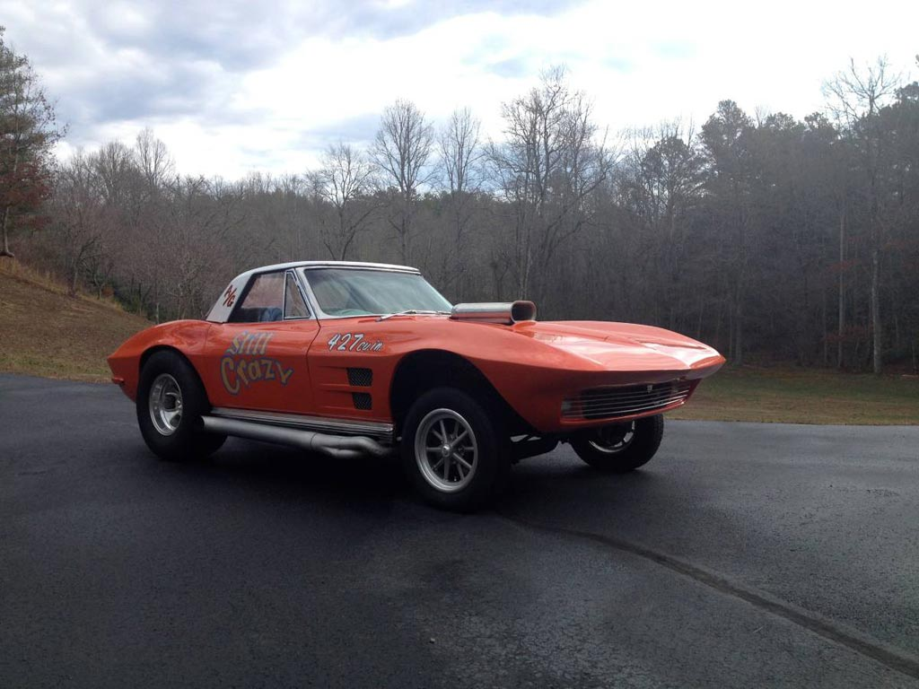 Corvettes on Craigslist: 1964 Corvette Convertible Gasser ...